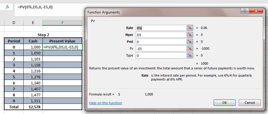 lease calculator excel