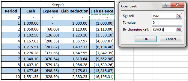 create amortization table in excel