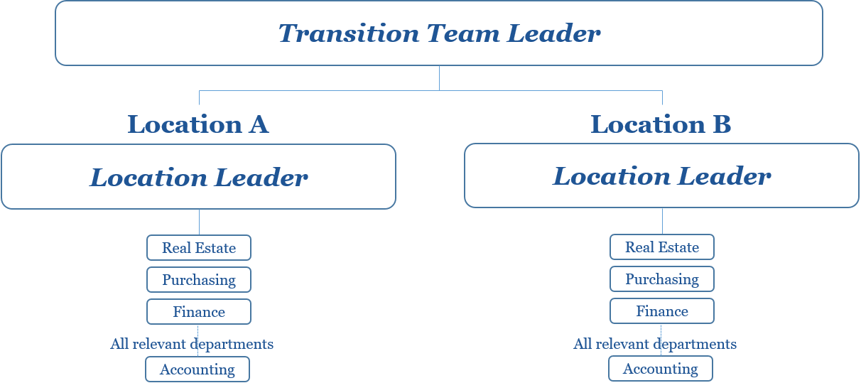 FASB 842 IFRS 16 Lease Accounting Transition Guide: Team structure